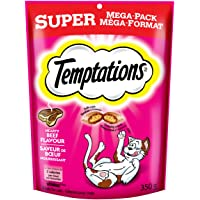 Temptations Treats for Cats - Beef - 350g