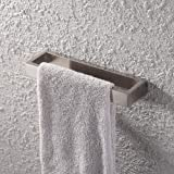 KES SUS 304 Stainless Steel Bath Towel Holder Hand Towel Ring Contemporary Style Wall Mount, Brushed Finish, A23080-2