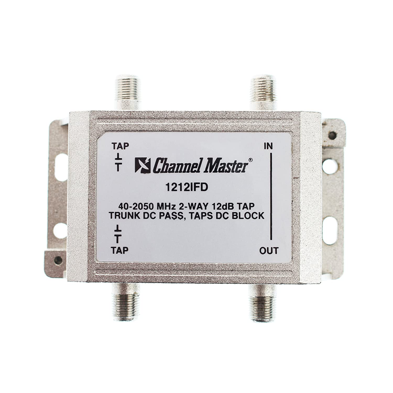 Amazon.com: Channel Master 1212IFD 2-Way Coaxial CATV Tap Module ...