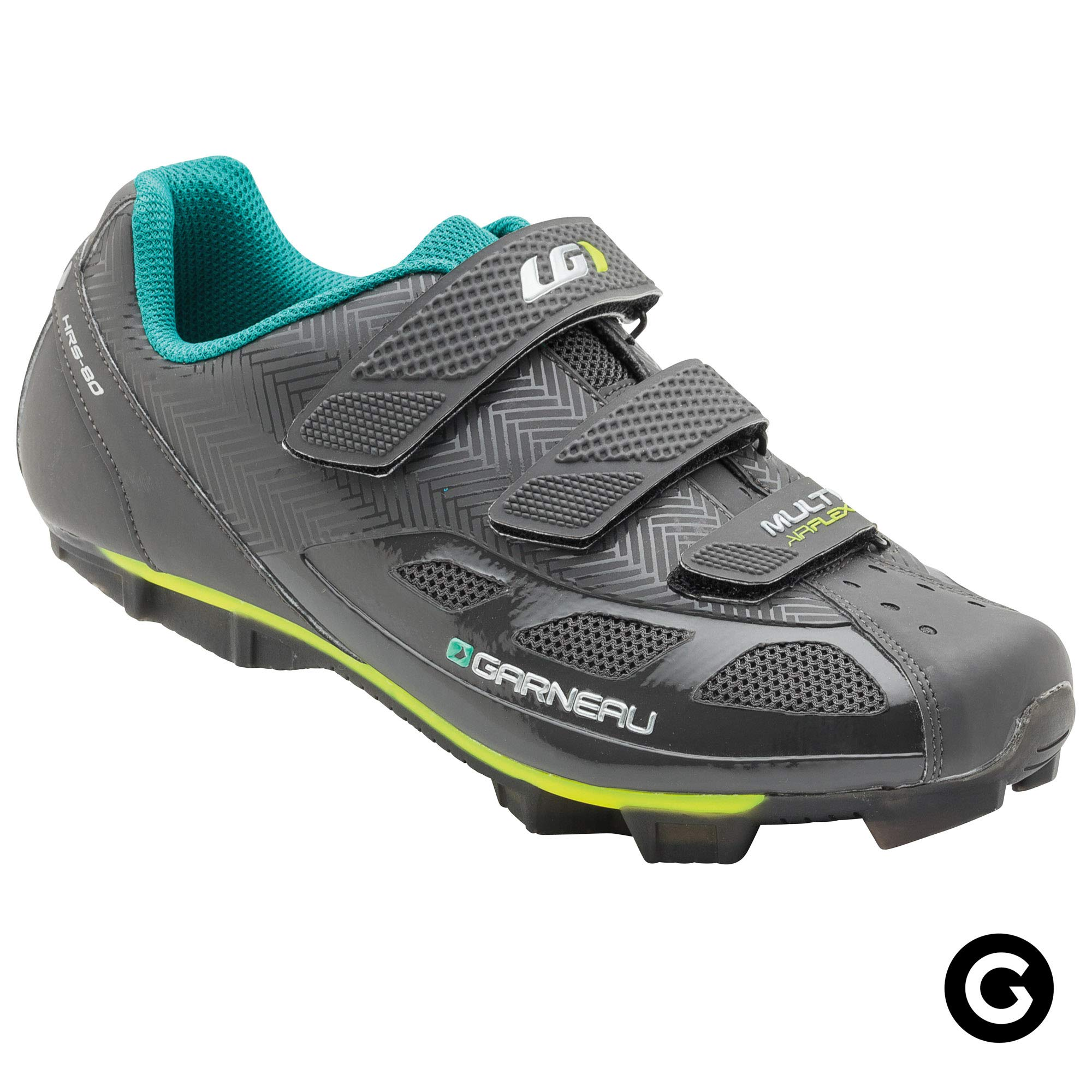 Louis Garneau Women's Multi Air Flex Bike Shoes for Indoor Cycling, Commuting and MTB, SPD Cleats Compatible with MTB Pedals, Asphalt, US (6.5), EU (37) by Louis Garneau