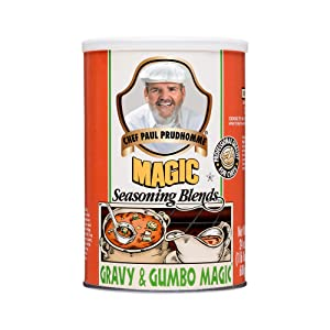 Chef Paul Prudhomme's Magic Seasoning Blends ~ Gravy & Gumbo Magic, 24-Ounce Canister