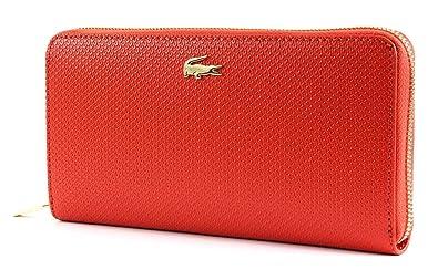 8323c6807d6 LACOSTE - Portefeuille Cuir Femme - NF2070CE  Amazon.fr  Chaussures ...