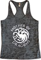Womens Mother Of Dragons II - Game of Thrones Designer Tank Top - Funny Threadz