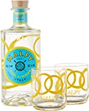 Malfy Gin con Limone Geschenkset mit 2 Gin Tonic Tumbler (1 x 0.7 l)