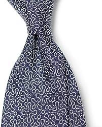 Creator Tie Difou PinDot Printed Cotton Sfoderato Untipped, Unlined