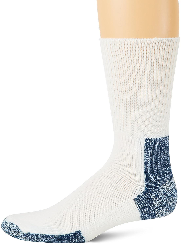 Thorlo Men's Socks Running Crew Sock White 13 Thorlo Men' s Socks XJ13003AMC