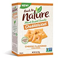 Back to Nature Crackers, Crispy Cheddar, 6 Ounce (Packaging May Vary)