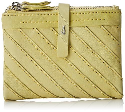 Abbacino 70017, Cartera para Mujer, Amarillo (Yellow), 9.5 ...