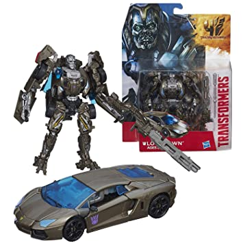 Transformers AOE Age of Extinction One Step Changers Figure Lockdown Hasbro 2014