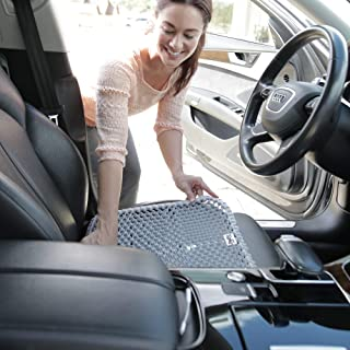 product image for GelPro Portable Seat Cushion For Office, Automotive or Sports Activities, 17.5x17.5, Grey