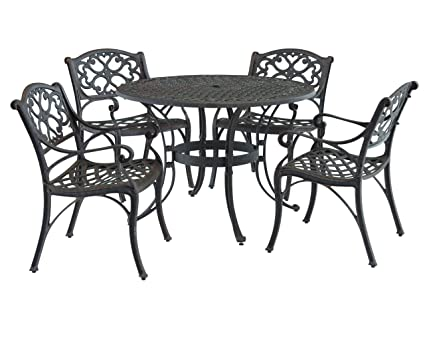 Amazon Com Home Styles 5555 328 Biscayne 5 Piece Outdoor Dining