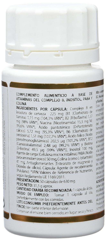 Equisalud Holovit Complejo B - 50 Cápsulas: Amazon.es: Alimentación y bebidas