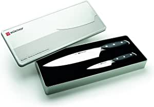 Wusthof Xline 2 Piece Knife Set, Silver