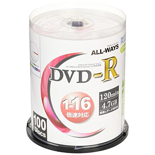 ALL-WAYS DVD-R ACPR16X100PW