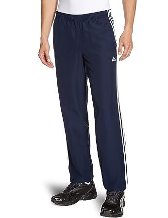 adidas Herren Hose Essentials 3 Stripes Woven Pants Closed Hem