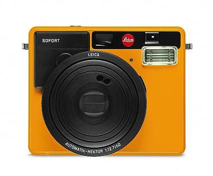 Leica Sofort Sofortbildkamera Orange Amazonde Kamera