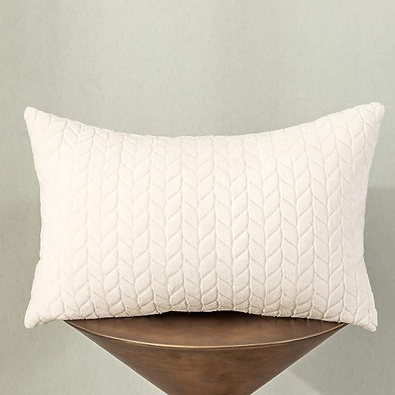 Amazon.com: UGASA Funda de almohada de terciopelo con diseño ...