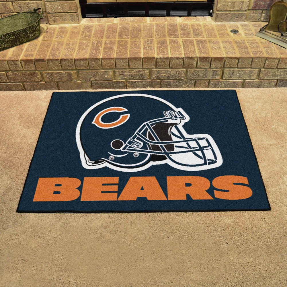 Fanmats Chicago Bears Team All-Star Mat 34 x 45 Fan Mats 5709 FM-5709