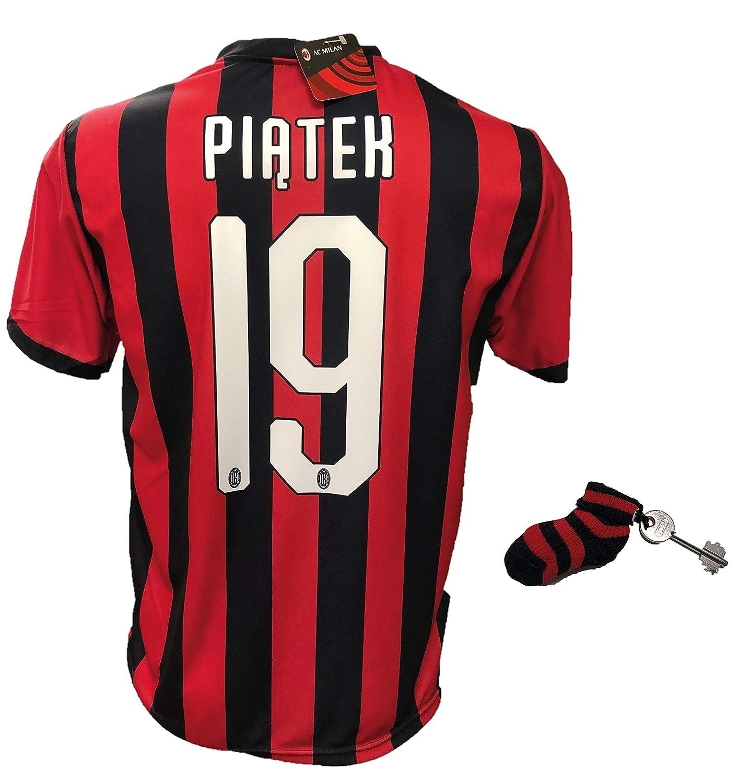 DND DAndolfo - Camiseta de fútbol Milan Piatek 19, réplica ...