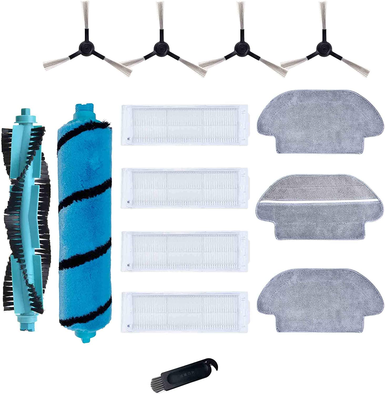 Kit de accesorios de repuesto para Cecotec Conga 3490 Elite Viomi V2 PRO V3 V-RVCLM21B Mijia STYJ02YM STYJ02YM aspiradora filtro cepillo trapo recambios: Amazon.es: Hogar