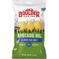 Boulder Canyon Avocado Oil Kettle Cooked Potato Chips 149 g, 149 g
