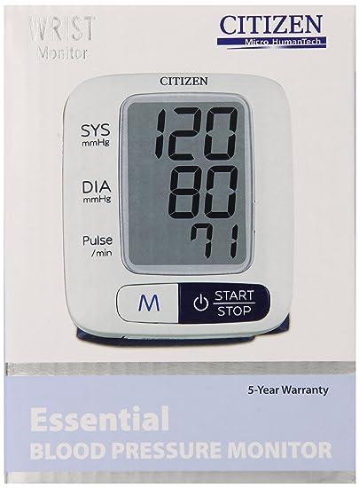 Amazon.com: Citizen CH-650 Wrist Digital Blood Pressure Monitor: Health & Personal Care