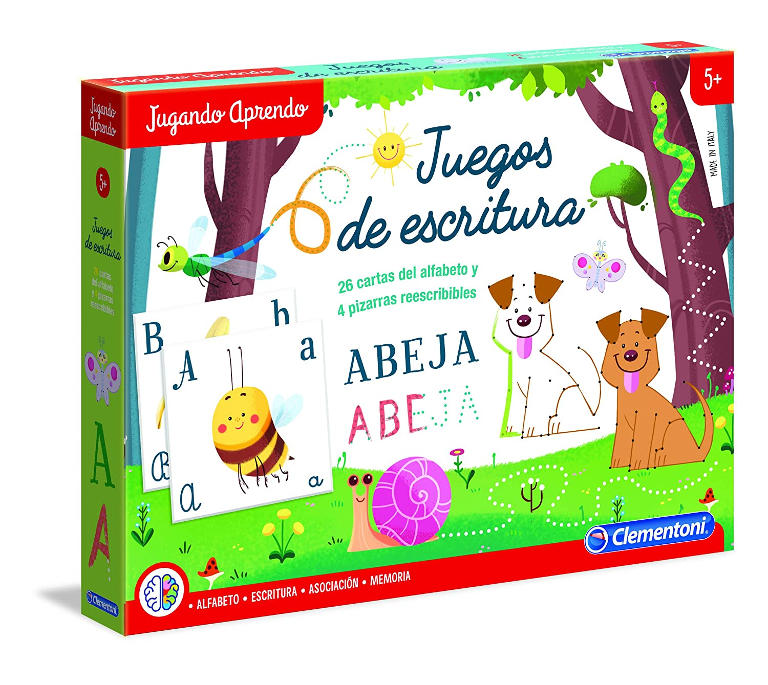 Amazon.com: Clementoni – Learn to Write Playing (Spanish ...