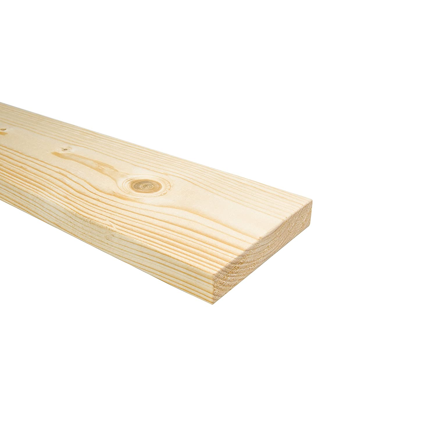 Double Individual Wooden Replacement Solid Pine Flat Bed Slats 4ft6-1365mm - 8 Slats The Bed Slats Company