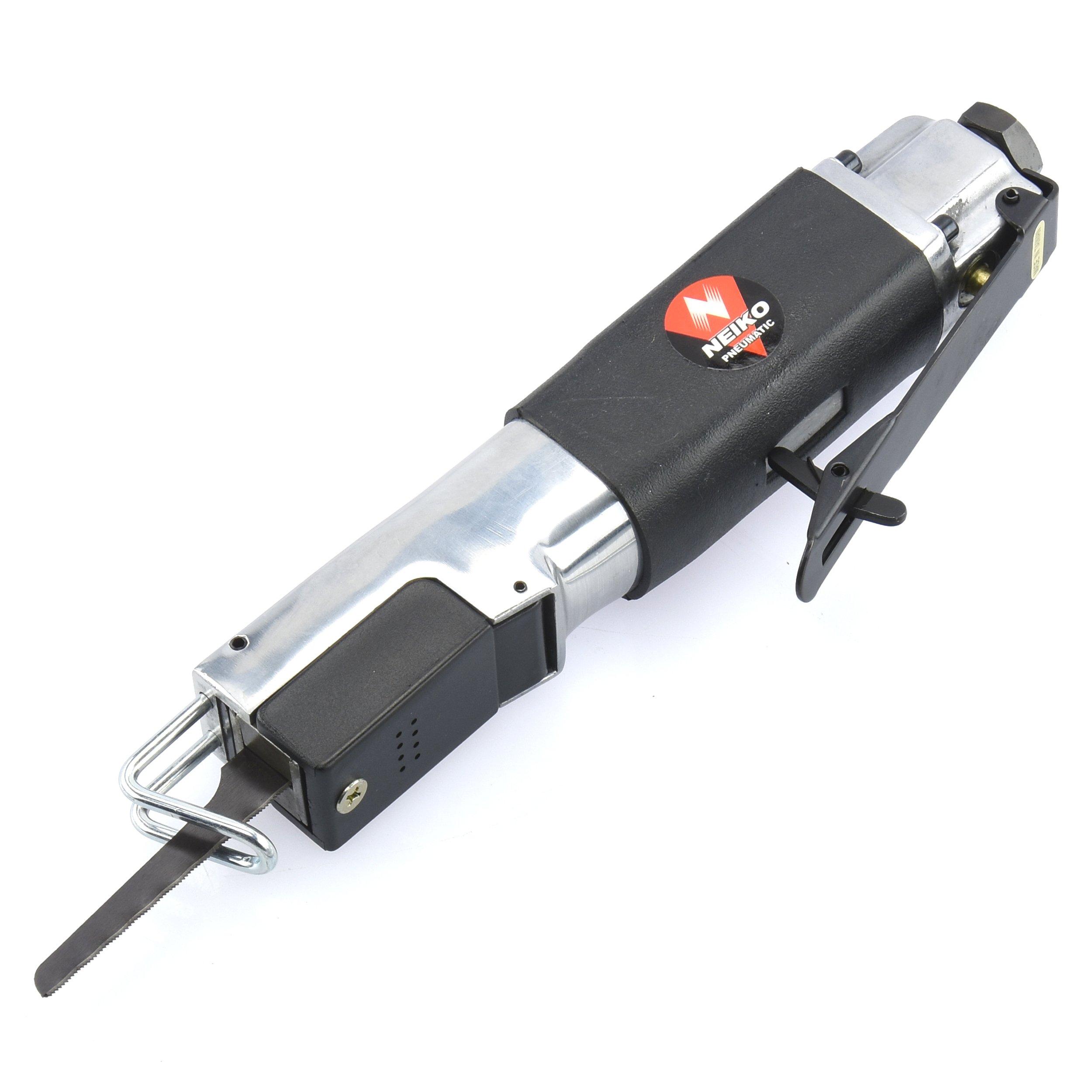 Neiko 30065A Pneumatic Air Saber Body Saw | 1/4'' NPT Air Inlet | 6 CFM, 90 PSI | 10000 RPM