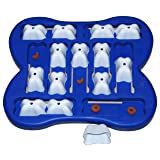 Nina Ottosson Dog Finder Interactive Doy Toy Puzzle for Dogs, Plastic