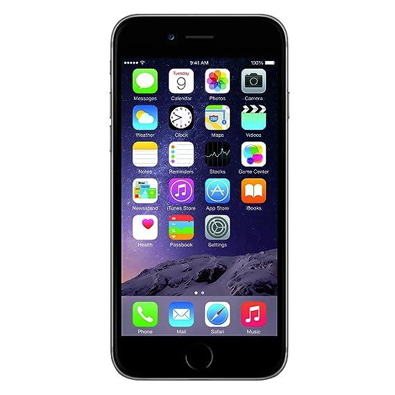 d4b329d2ef0 Apple iPhone 6 Celular 16 GB Color Gris Desbloqueado (Unlocked) Renewed  (Renewed): Amazon.com.mx: Electrónicos