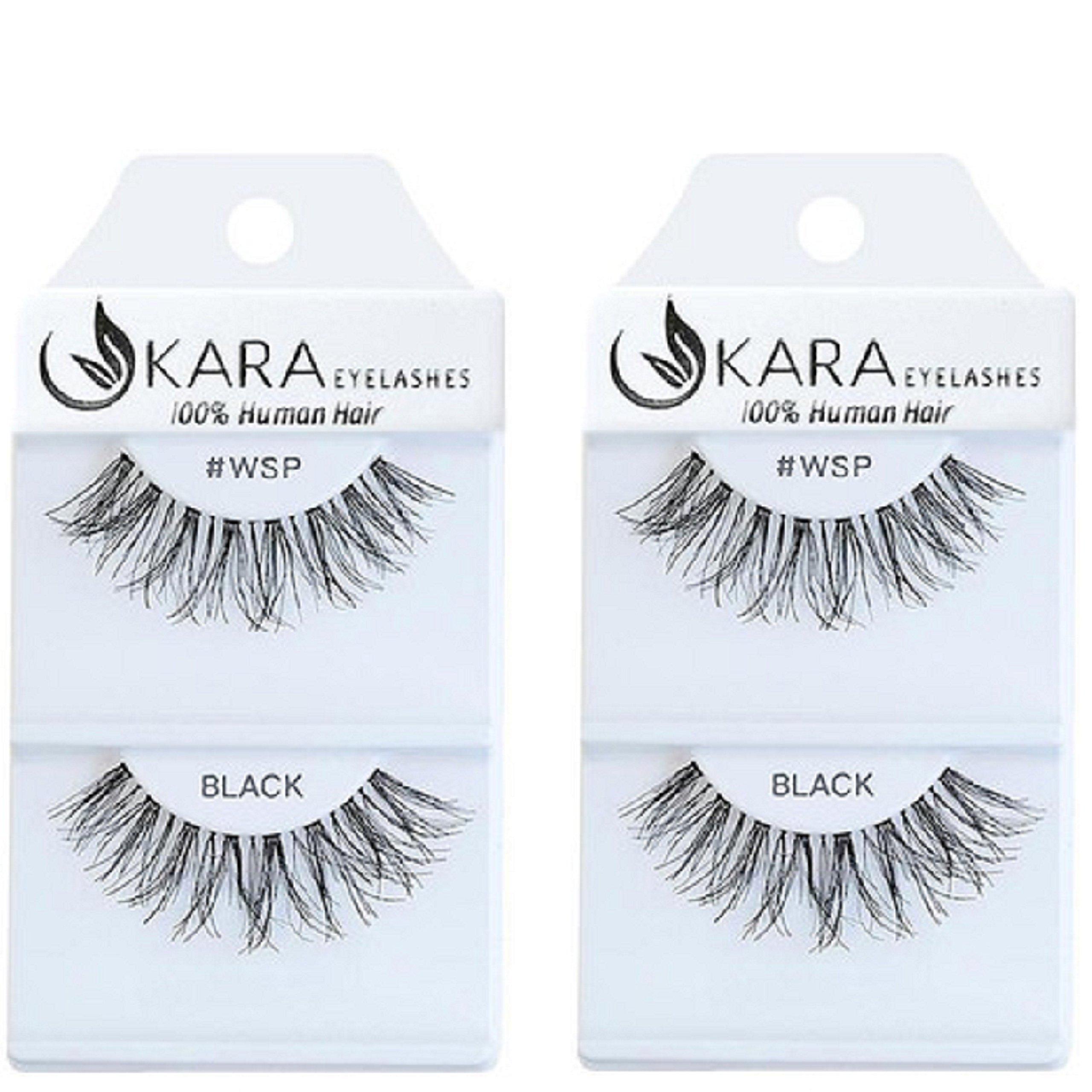 Amazon Kara Beauty Multipack Eyelashes 100 Human Hair