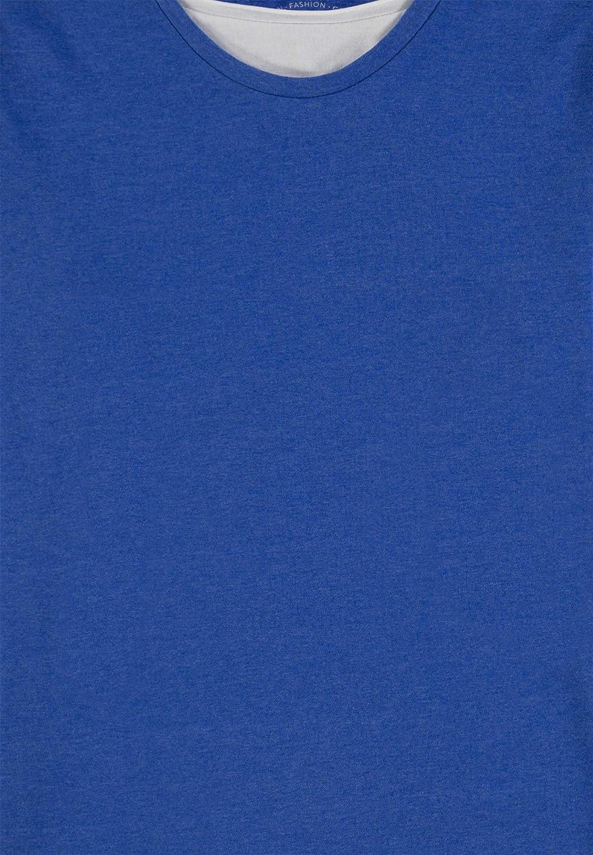 TOM TAILOR Jungen T-Shirts//Tops Schlichtes Langarmshirt