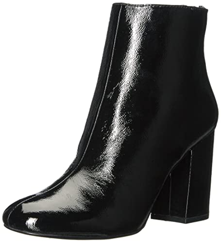 4d81aeec7d93 Kenneth Cole New York Women s Caylee Dress Block Heel Patent Ankle Bootie