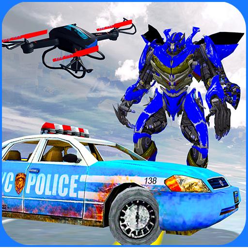 Air Drone Robot Transform Battle- Best Robots war free games (Best Drone Under 300 Dollars)