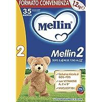 Mellin 2 Latte di Proseguimento in Polvere - 3 Confezioni da 1200 gr