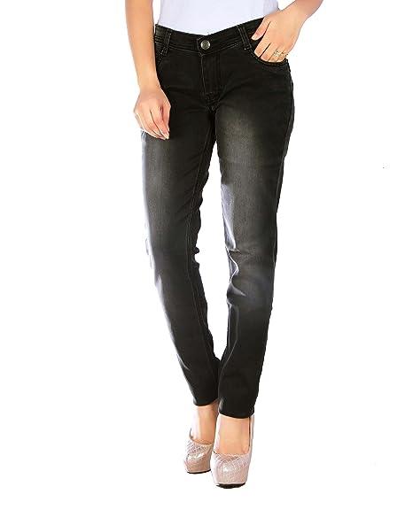 Studio Nexx Women s Dark Grey Slim Fit Jeans  Amazon.in  Clothing    Accessories 4cbce84fd