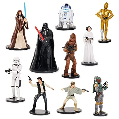 Star Wars Deluxe Figurine Set: Toys & Games