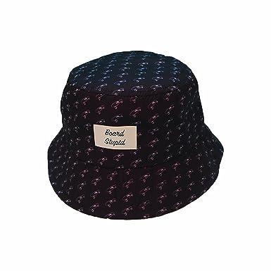 40c07039a31 Board Stupid Bucket Hat Originals Cruiser Logo Black  Amazon.co.uk  Clothing