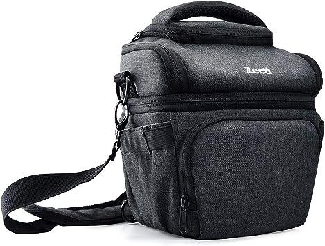 Negro Canon Sony c/ámara de Fotos r/éflex Incluye Correa para Hombro Funda para la Lluvia Funda Compatible con Nikon