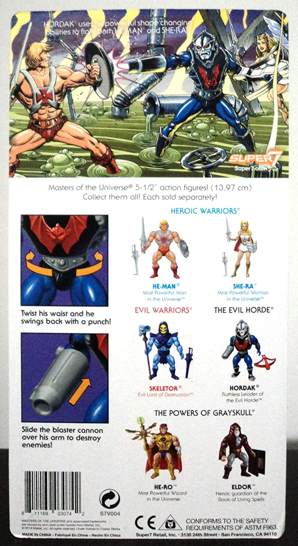 HORDAK Super7 Masters of the Universe MOTU Wave 1 Set  HE-MAN SHE-RA SKELETOR