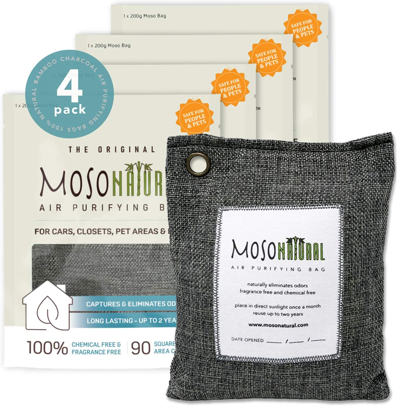 MOSO NATURAL: The Original Air Purifying Bag