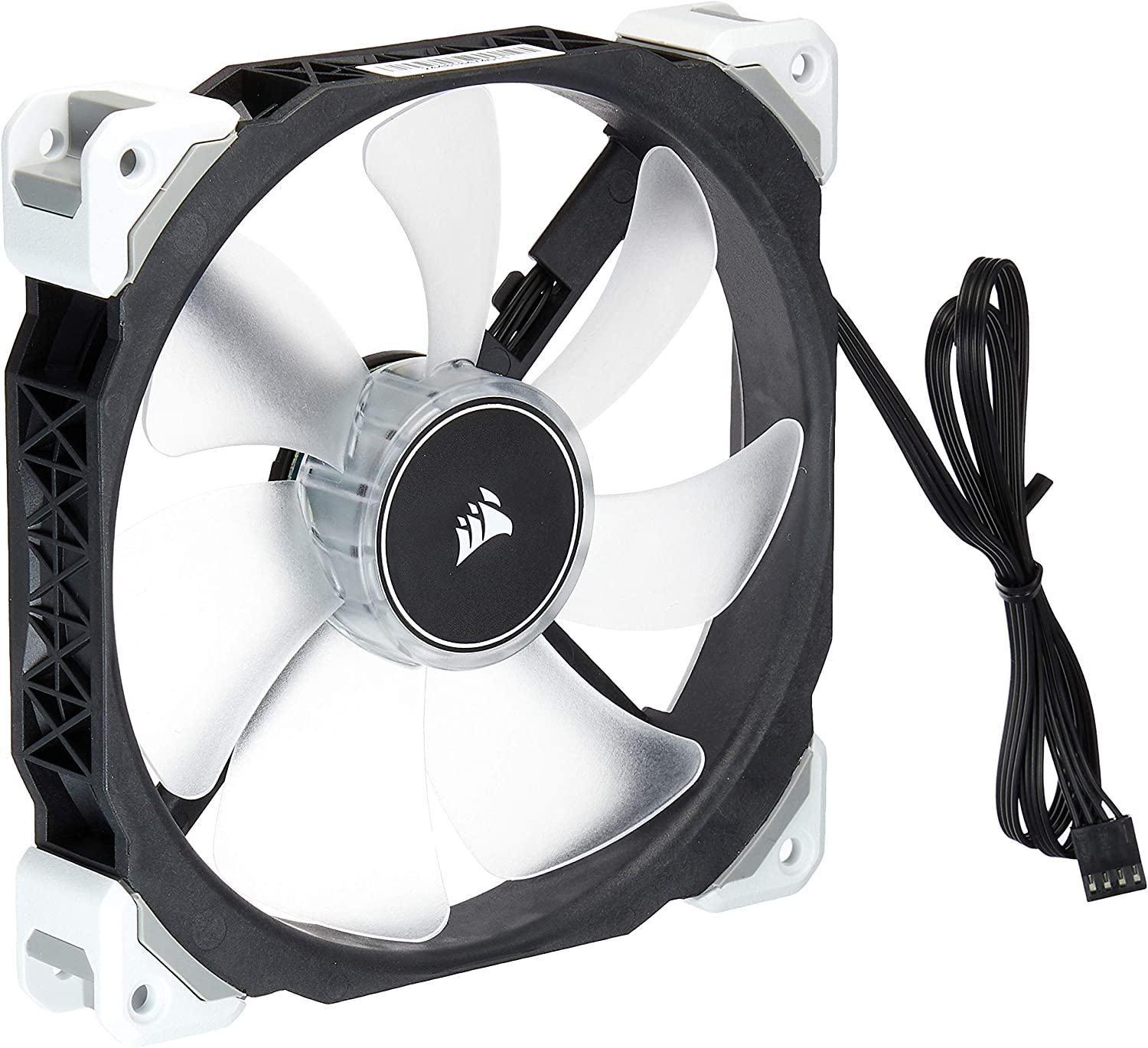140mm Premium Magnetic Levitation Cooling Fan CO-9050046-WW Corsair ML140 Pro LED White