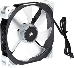 Corsair ML140 Pro LED, White, 140mm Premium Magnetic Levitation Cooling Fan CO-9050046-WW