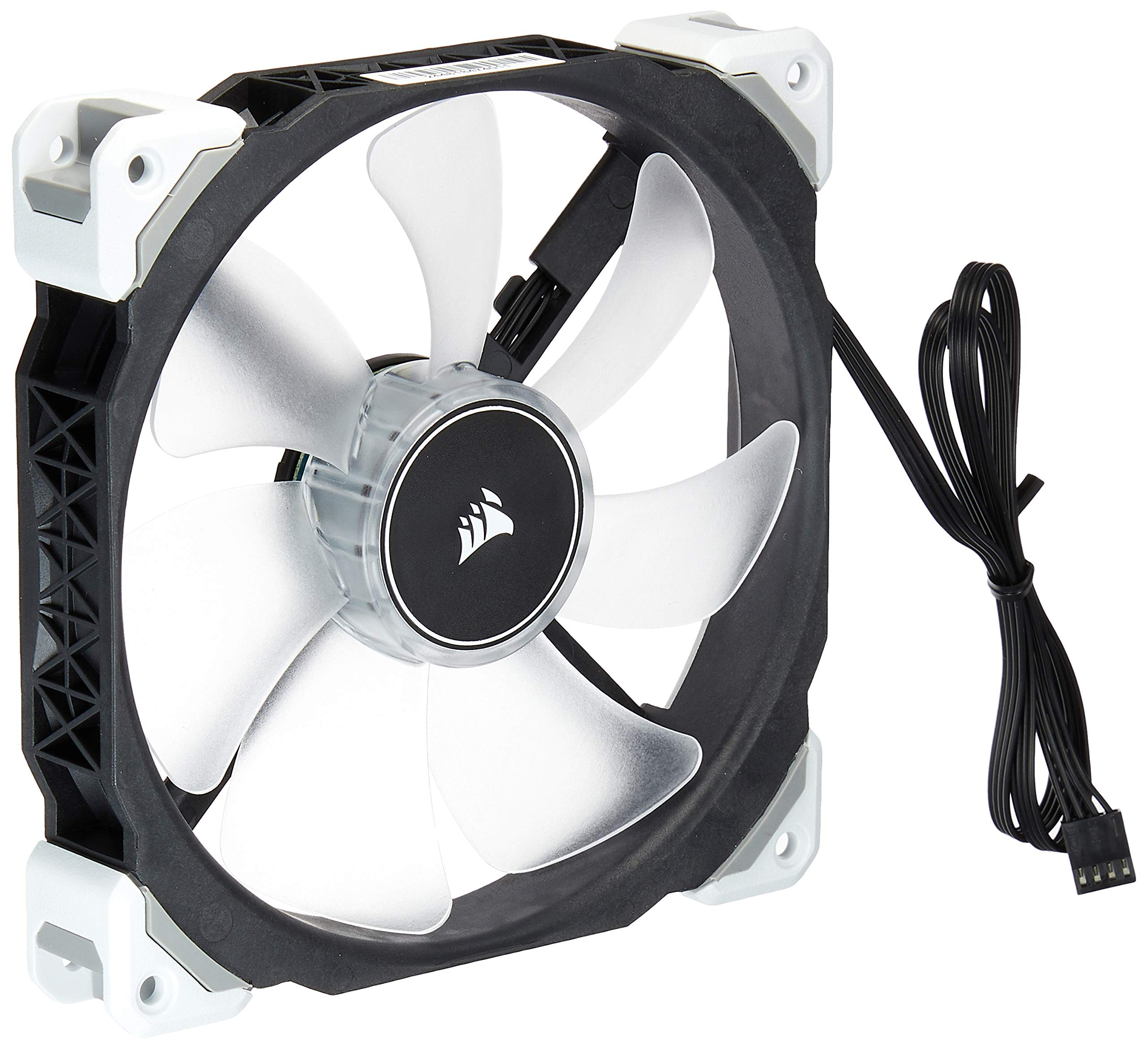 Fan Cooler Corsair ML140 Pro LED, White, 140mm Premium Magne