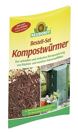 Neudorff Pedidos Juego de compostaje gusanos