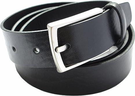 Cinturón para hombre - Hecho a mano en España con piel de alta ...