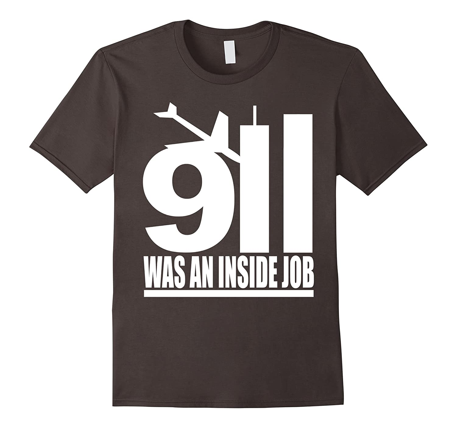 911 was an inside job white style T Shirt-TD