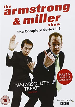 The Armstrong Miller Show Complete Box Set DVD