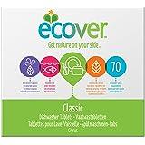 Ecover - Pastilles pour Lave Vaisselle XL - 1,4 kg - 70 Tablettes
